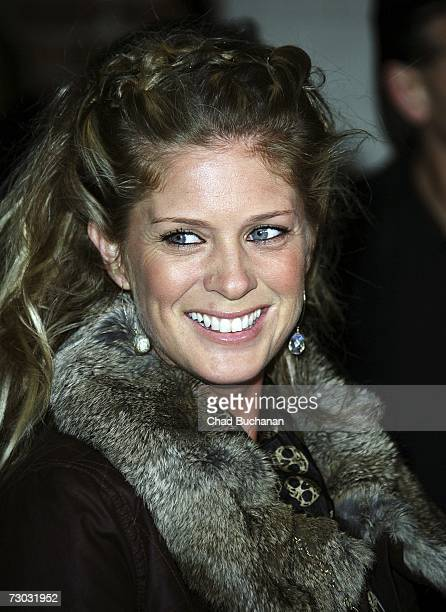 Actress Rachel Hunter attends Trump Vodka launch party at Les Deux on January 17, 2007 in Los Angeles, California.