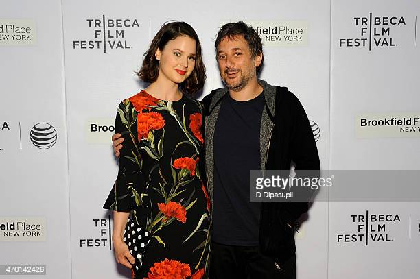 Actress Rachel Korine and director Harmony Korine attend the premiere of 'Men Go To Battle' during the 2015 Tribeca Film Festival at Regal Battery...