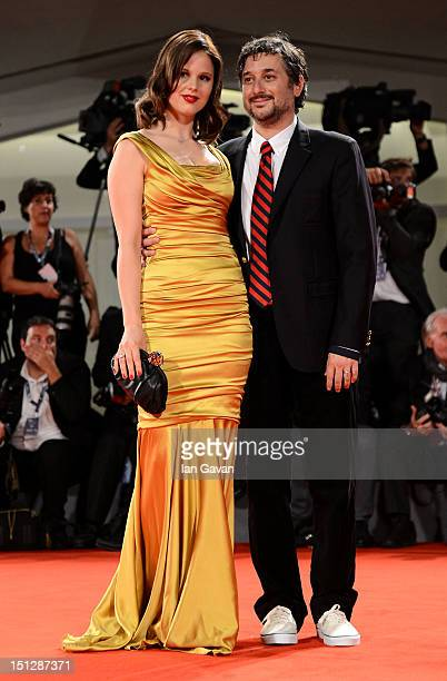 Actress Rachel Korine and director Harmony Korine attend the Spring Breakers Premiere during The 69th Venice Film Festival at the Palazzo del Cinema...