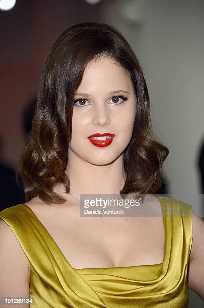 """Actress Rachel Korine attends """"Spring Breakers"""" Premiere during The 69th Venice Film Festival at the Palazzo del Cinema on September 5, 2012 in..."""