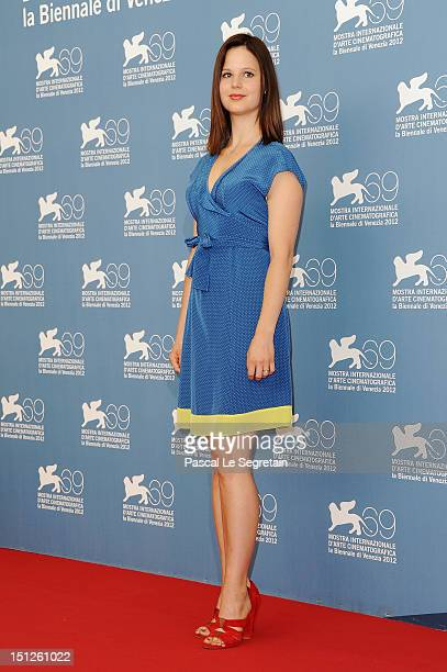 Actress Rachel Korine attends the Spring Breakers Photocall during the 69th Venice Film Festival at the Palazzo del Casino on September 5 2012 in...