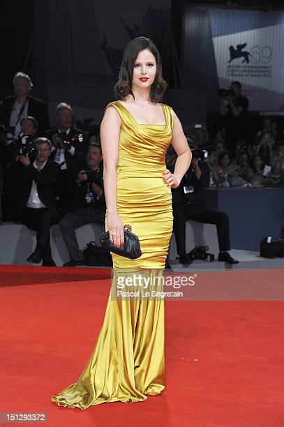 Actress Rachel Korine attends the Spring Breakers Premiere during The 69th Venice Film Festival at the Palazzo del Cinema on September 5 2012 in...