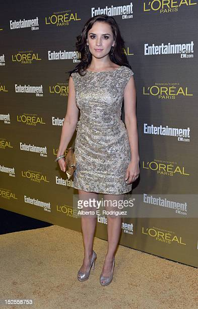 Actress Rachel Leigh Cook attends The 2012 Entertainment Weekly PreEmmy Party Presented By L'Oreal Paris at Fig Olive Melrose Place on September 21...