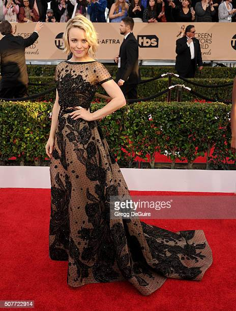 Actress Rachel McAdams arrives at the 22nd Annual Screen Actors Guild Awards at The Shrine Auditorium on January 30 2016 in Los Angeles California