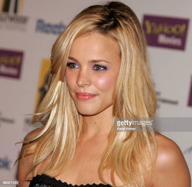 Actress Rachel McAdams arrives at the 9th Annual Hollywood Film Awards at the Beverly Hilton Hotel on October 24 2005 in Beverly Hills California