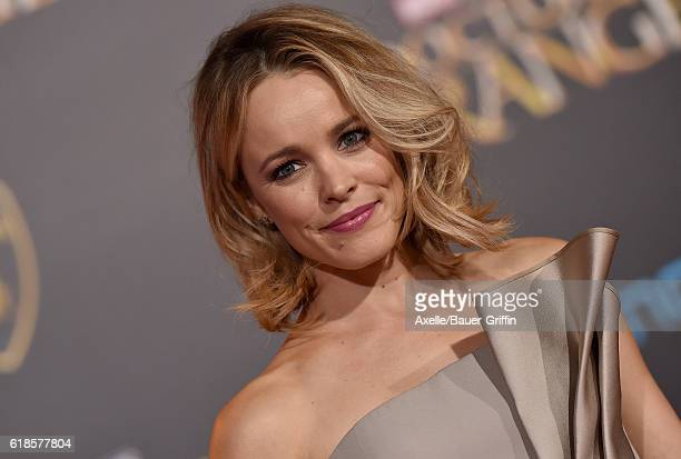 Actress Rachel McAdams arrives at the Los Angeles Premiere of 'Doctor Strange' on October 20 2016 in Hollywood California