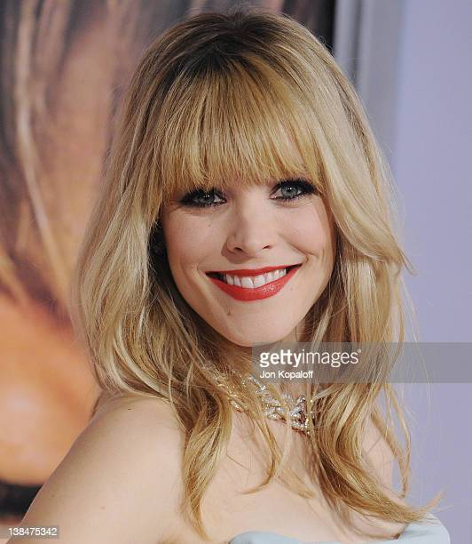 Actress Rachel McAdams arrives at the Los Angeles Premiere The Vow at Grauman's Chinese Theatre on February 6 2012 in Hollywood California