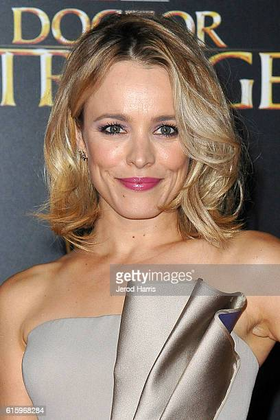 Actress Rachel McAdams arrives at the Premiere of Disney and Marvel Studios' 'Doctor Strange' on October 20 2016 in Hollywood California