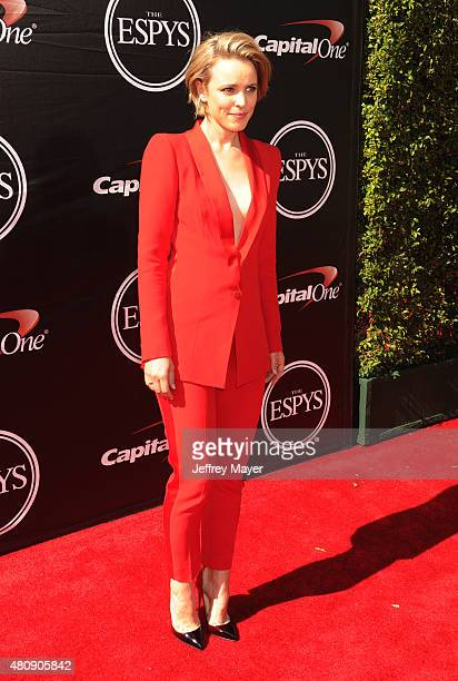 Actress Rachel McAdams arrives at the The 2015 ESPYS at Microsoft Theater on July 15 2015 in Los Angeles California