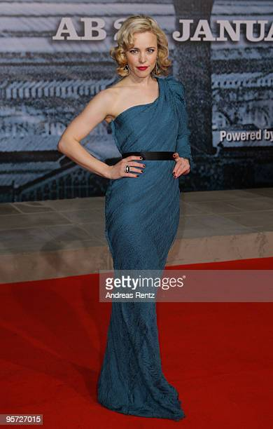 Actress Rachel McAdams attends for the 'Sherlock Holmes' German Premiere at CineStar on January 12 2010 in Berlin Germany