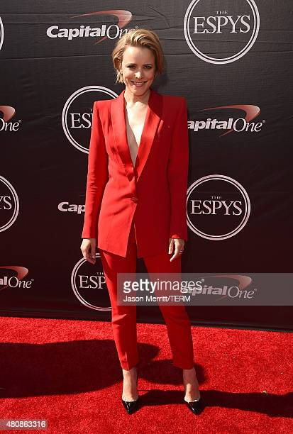 Actress Rachel McAdams attends The 2015 ESPYS at Microsoft Theater on July 15 2015 in Los Angeles California