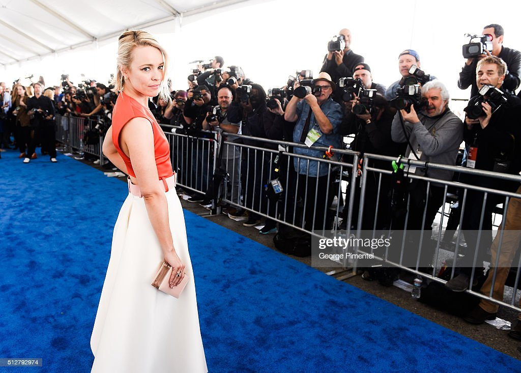 Actress Rachel McAdams attends the 2016 Film Independent Spirit Awards on February 27, 2016 in Santa Monica, California.