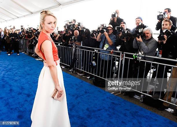 Actress Rachel McAdams attends the 2016 Film Independent Spirit Awards on February 27, 2016 in Santa Monica, California.