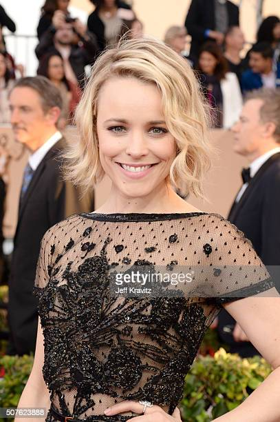 Actress Rachel McAdams attends the 22nd Annual Screen Actors Guild Awards at The Shrine Auditorium on January 30 2016 in Los Angeles California