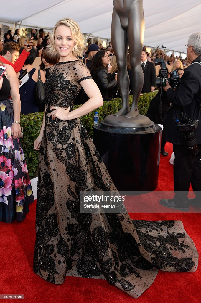 Actress Rachel McAdams attends The 22nd Annual Screen Actors Guild Awards at The Shrine Auditorium on January 30, 2016 in Los Angeles, California. 25650_016