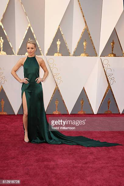 Actress Rachel McAdams attends the 88th Annual Academy Awards at Hollywood & Highland Center on February 28, 2016 in Hollywood, California.