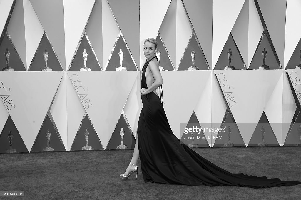 Actress Rachel McAdams attends the 88th Annual Academy Awards at Hollywood & Highland Center on February 27, 2016 in Hollywood, California.