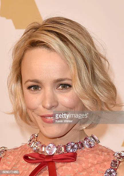 Actress Rachel McAdams attends the 88th Annual Academy Awards nominee luncheon on February 8 2016 in Beverly Hills California