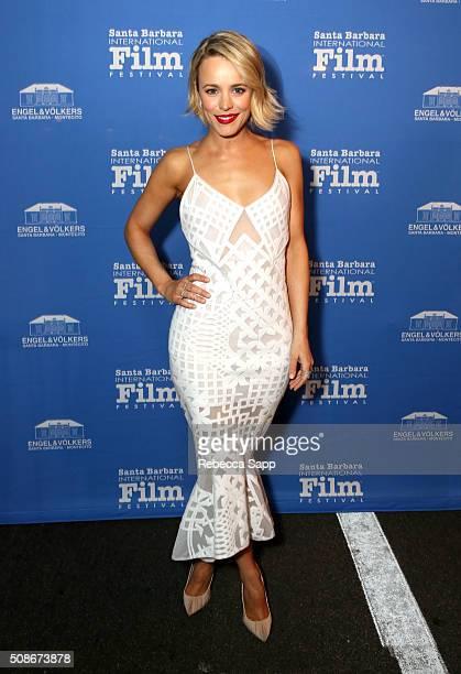 Actress Rachel McAdams attends the American Riviera Award at the Arlington Theater at the 31st Santa Barabara International Film Festival on February...