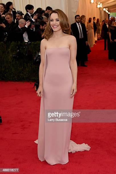 """Actress Rachel McAdams attends the """"Charles James: Beyond Fashion"""" Costume Institute Gala at the Metropolitan Museum of Art on May 5, 2014 in New..."""