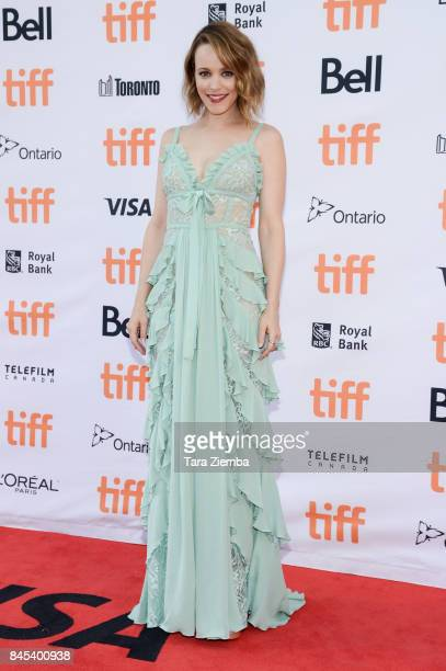 Actress Rachel McAdams attends the 'Disobedience' premiere during the 2017 Toronto International Film Festival at Princess of Wales Theatre on...