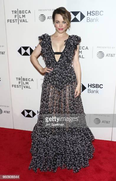 Actress Rachel McAdams attends the 'Disobedience' premiere during the 2018 Tribeca Film Festival at BMCC Tribeca PAC on April 24 2018 in New York City