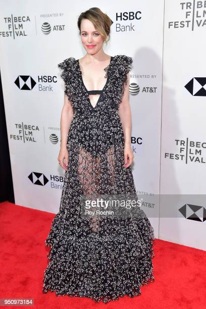 Actress Rachel McAdams attends the Disobedience premiere during the 2018 Tribeca Film Festival at BMCC Tribeca PAC on April 24 2018 in New York City