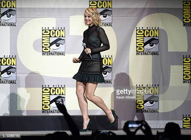 Actress Rachel McAdams attends the Marvel Studios presentation during ComicCon International 2016 at San Diego Convention Center on July 23 2016 in...