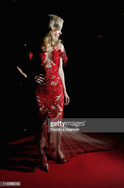Actress Rachel McAdams attends the opening night dinner during the 64th Annual Cannes Film Festival at Palais des Festivals on May 11 2011 in Cannes...
