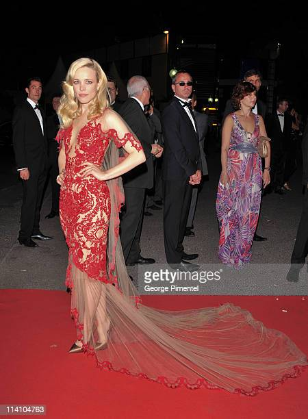 Actress Rachel McAdams attends the opening night dinner during the 64th Cannes Film Festival at the Palais des Festivals on May 11 2011 in Cannes...