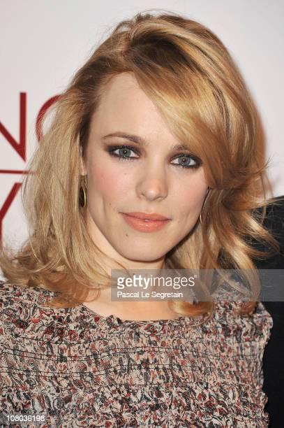 Actress Rachel McAdams attends the Photocall for the' Morning Glory' film at Hotel Meurice on January 14 2011 in Paris France