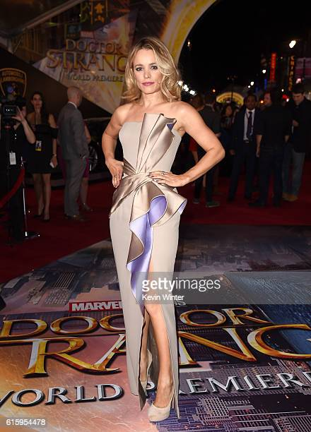 Actress Rachel McAdams attends the premiere of Disney And Marvel Studios' 'Doctor Strange' on October 20 2016 in Hollywood California