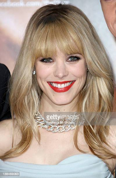 Actress Rachel McAdams attends the Premiere of Sony Pictures' The Vow at Grauman's Chinese Theatre on February 6 2012 in Hollywood California