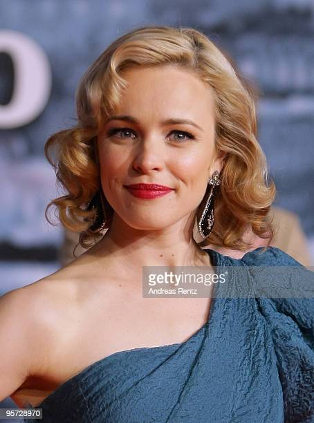 Actress Rachel McAdams attends the 'Sherlock Holmes' German Premiere at CineStar on January 12 2010 in Berlin Germany