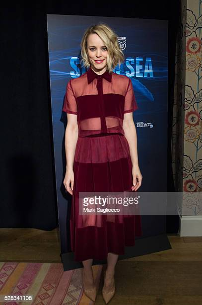 Actress Rachel McAdams attends the Sonic Sea New York screening at the Crosby Hotel on May 4 2016 in New York City