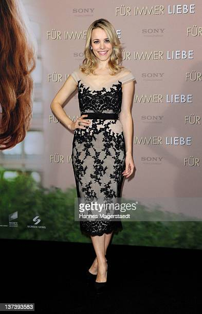 Actress Rachel McAdams attends the 'The Vow' Germany Photocall at the Hotel Bayerischer Hof on January 20 2012 in Munich Germany