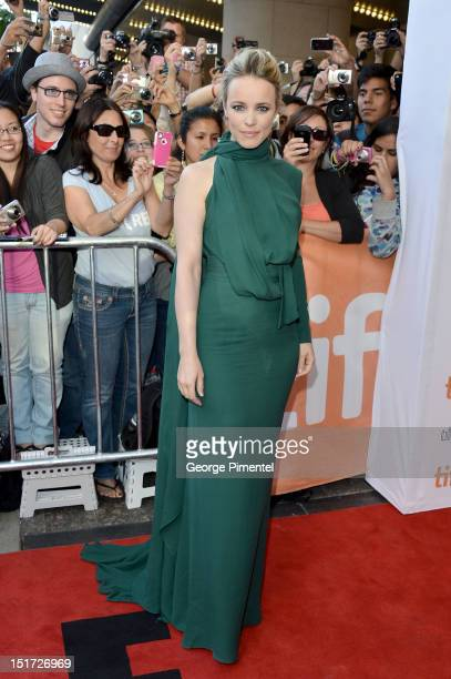 Actress Rachel McAdams attends the To The Wonder premiere during the 2012 Toronto International Film Festival at the Princess of Wales Theatre on...