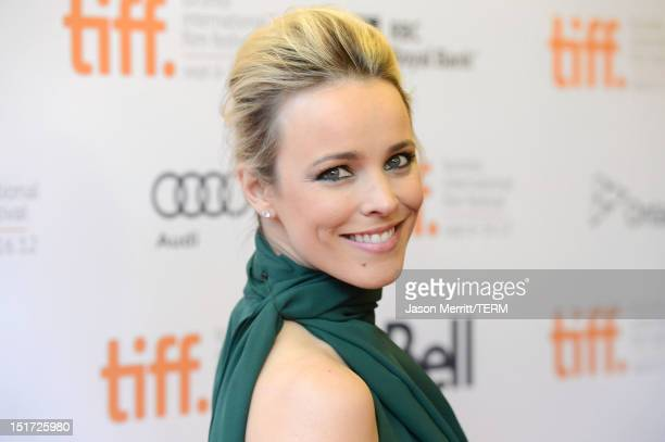 Actress Rachel McAdams attends To The Wonder premiere during the 2012 Toronto International Film Festival at Princess of Wales Theatre on September...