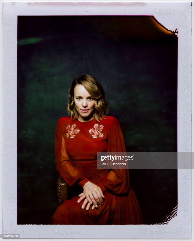Actress Rachel McAdams from the film, 'Disobedience,' is photographed on polaroid film at the L.A. Times HQ at the 42nd Toronto International Film Festival, in Toronto, Ontario, Canada, on September 10, 2017.