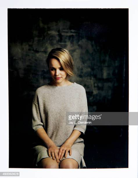 Actress Rachel McAdams from the film 'Spotlight' is photographed on polaroid film for Los Angeles Times on September 25, 2015 in Toronto, Ontario....