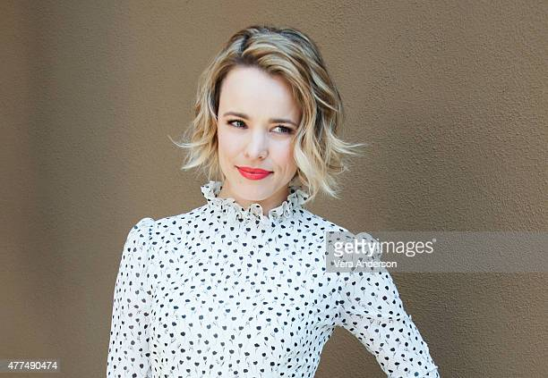 Actress Rachel McAdams poses for a portrait at the 'True Detective' Press Conference at the Four Seasons Hotel on June 05 2015 in Beverly Hills...