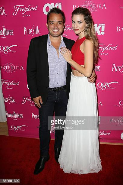 Actress Rachel McCord and Rick Schirmer arrive at the OK Magazine's So Sexy LA at the Skybar at Mondrian on May 18 2016 in West Hollywood California
