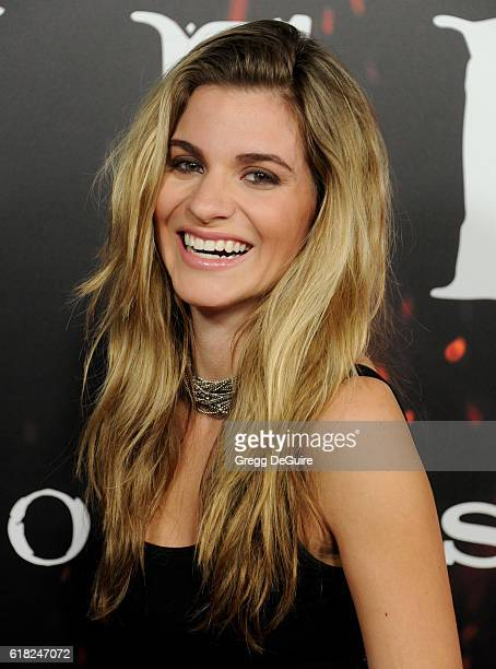 Actress Rachel McCord arrives at the screening of Sony Pictures Releasing's 'Inferno' at DGA Theater on October 25 2016 in Los Angeles California