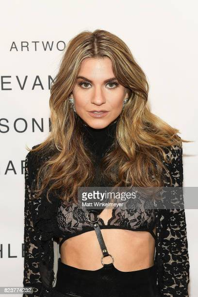 Actress Rachel McCord attends Freedom United Foundation presents Art with a Cause on July 27 2017 in Los Angeles California