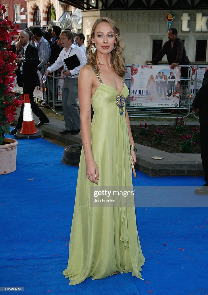 Actress Rachel McDowall attends the Mamma Mia! The Movie world premiere held at the Odeon Leicester Square on June 30, 2008 in London, England.