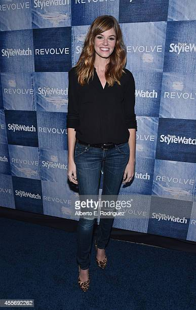 Actress Rachel Melvin attends the People StyleWatch Denim Event at The Line on September 18 2014 in Los Angeles California