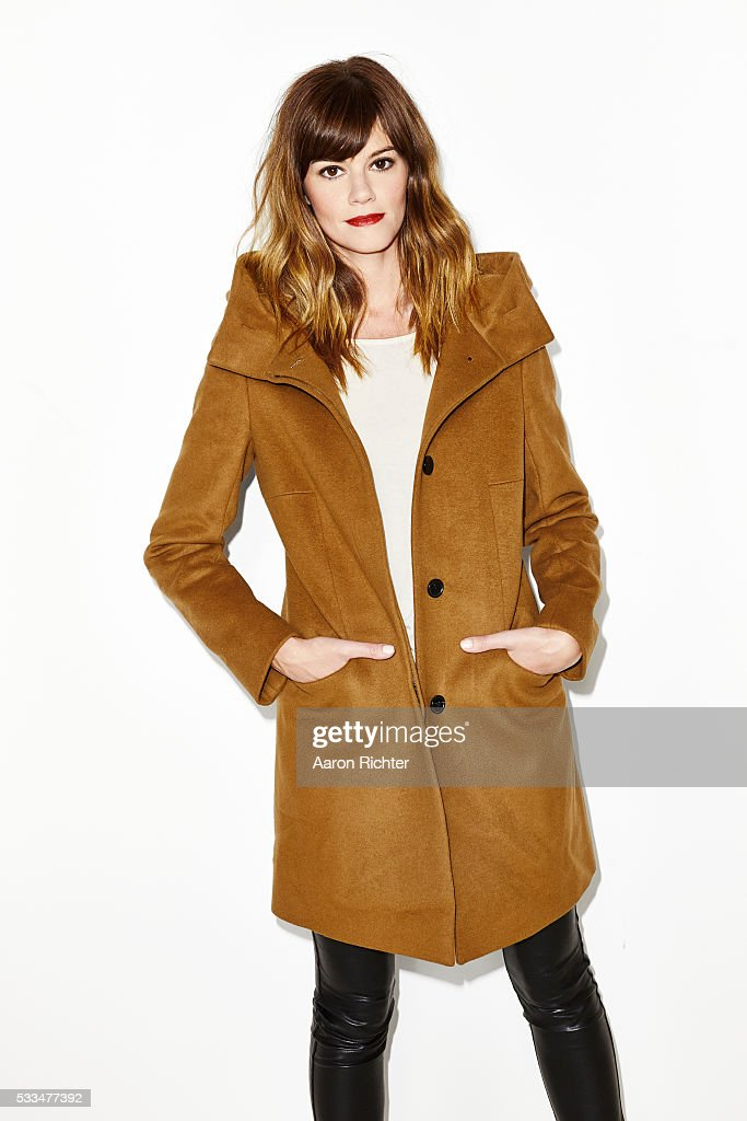 Actress Rachel Melvin is photographed for Aritzia #FallForUs in 2014 in New York City. PUBLISHED