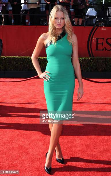 Actress Rachel Nichols arrives at the 19th Annual ESPY Awards at Nokia Theatre LA Live on July 13 2011 in Los Angeles California