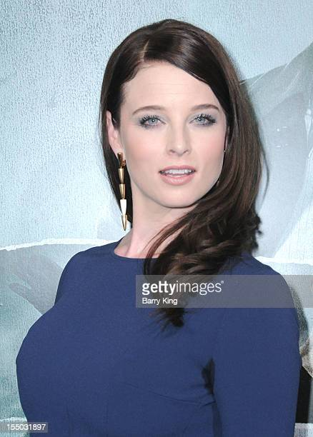 Actress Rachel Nichols arrives at the Los Angeles premiere of Alex Cross held at ArcLight Cinemas Cinerama Dome on October 15 2012 in Hollywood...