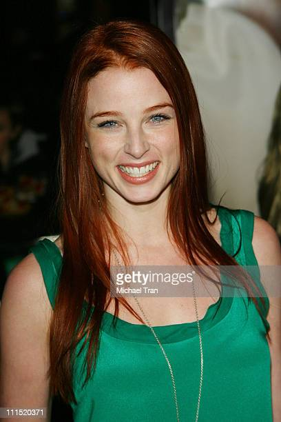 Actress Rachel Nichols arrives at the Los Angeles Premiere of Charlie Wilson's War held at City Walk Cinemas at Universal City Walk on December 10...